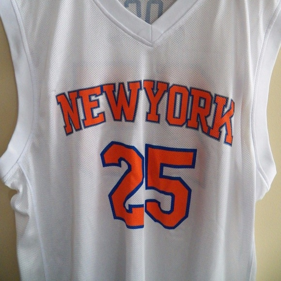 timeless design 3d66f 8629a New York Knicks Jersey ~ #25 DERRICK ROSE